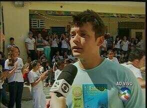 Projeto de capoeira incentiva alunos do Colégio Dom Vital - Unidade de ensino funciona em Caruaru.