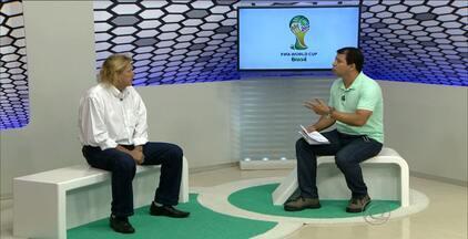 Melhor lateral da Copa de 74 visita João Pessoa para lançar camisa retrô - Marinho Chagas defendeu grandes times do futebol brasileiro, como Botafogo, Fluminense e São Paulo e se consagrou no Mundial de 74, na Alemanha.