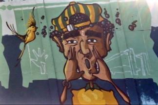 Sandra Annenberg mostra o muro que une os loucos pelo futebol e os amantes do grafite - São quatro quilômetros de muro, com trabalhos de setenta artistas. É considerado a maior obra de grafite a céu aberto.