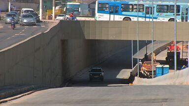 Trecho de trincheira da Copa é liberado para tráfego em Cuiabá - Um trecho da trincheira do Verdão foi liberado para tráfego em Cuiabá.