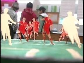 Estudantes de Lages aproveitam proximidade da Copa para aprender sobre países - Estudantes de Lages aproveitam proximidade da Copa para aprender sobre países