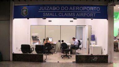 Começa a funcionar nesta quinta-feira o juizado especial do Aeroporto de Fortaleza - Juizado conta com intérprete e juiz plantonista.