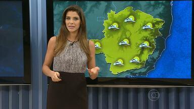 Sem previsão de chuva, meteorologistas esperam tempo cada vez mais seco em MG - Tempo fica estável nos próximos dias em Belo Horizonte, com frio na parte da manhã e calor na parte da tarde.