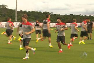 Croácia e Austrália se preparam para amistoso na Bahia - A partida acontece nesta sexta-feira no estádio de Pituaçu.