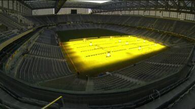 Arena da Baixada já está com a cara de Copa do Mundo - Veja como como os torcedores vão ser recebidos em dias de jogos.