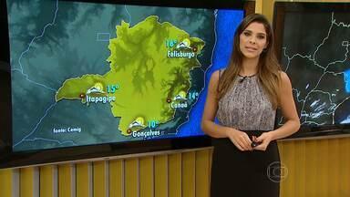 Semana termina com clima típico de outono - Em Belo Horizonte, termômetros ficam entre 17ºC e 28ºC.