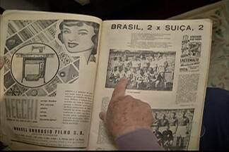 Sãopaulino relembra momentos marcantes da Copa de 1950 - Testemunha do Maracanazo comenta suas expectativas para a segunda Copa no Brasil