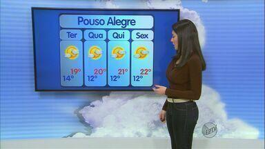 Confira a previsão do tempo no Sul de Minas para esta segunda-feira (9) - Confira a previsão do tempo no Sul de Minas para esta segunda-feira (9)