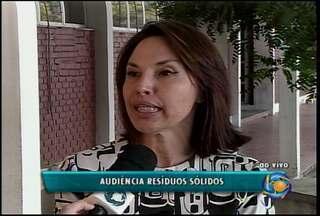 MP-PE vai realizar uma audiência pública em Petrolina - Na ocasião, será discutida a implantação de políticas nacional e estadual de resíduos sólidos.