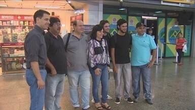 Equipe de profissionais da TV Rondônia embarcam para Manaus - Eles farão a cobertura da Copa do Mundo que começa nesta quinta-feira (12).