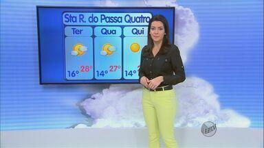 Confira a previsão do tempo para a região de São Carlos nesta terça-feira (10) - Confira a previsão do tempo para a região de São Carlos nesta terça-feira (10)