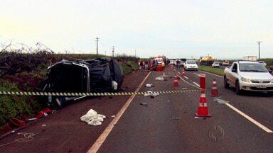 Mais uma pessoa morreu num acidente na PR 317 perto de Floresta - Foi entre uma camionete e uma moto
