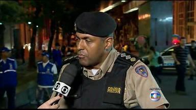 Polícia fala sobre operações na Praça Sete - Fiscalização da prefeitura também fala sobre trabalhos