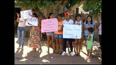 Liberação de assassino confesso de adolescente gera protesto - A família do jovem de 16 anos assassinado domingo em Santarém temem que o crime fique impune.