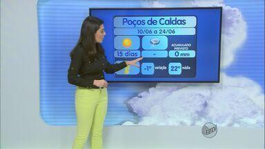 Confira a previsão do tempo no Sul de Minas para esta quarta-feira (11) - Confira a previsão do tempo no Sul de Minas para esta quarta-feira (11)