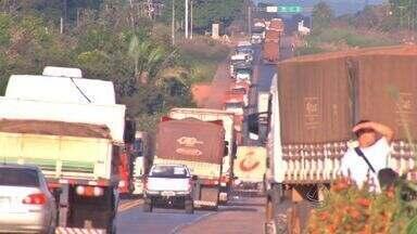 Roubo de cargas gera prejuízo de R$ 25 milhões em Mato Grosso - Roubo de cargas gera prejuízo de R$ 25 milhões em Mato Grosso.