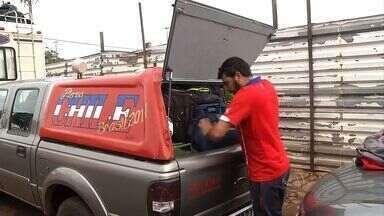 Caravanas chilenas estão a caminho de Cuiabá para jogo da Copa - Caravanas chilenas estão a caminho de Cuiabá para jogo da Copa.