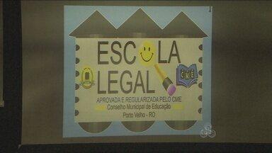 Escolas de Porto Velho receberão selo de qualidade para funcionar - Instituições terão que cumprir requisitos para receber Selo Escola Legal. Prazo para adequação vai até o fim do ano.