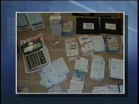 Polícia fecha ponto de apostas do jogo do bicho em Criciúma - Polícia fecha ponto de apostas do jogo do bicho em Criciúma