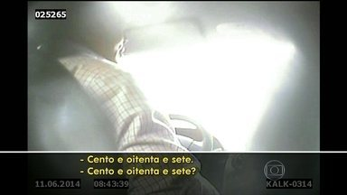 Taxistas cobram valores abusivos na Rodoviária Novo Rio - Apesar do grande movimento na Rodoviária Novo Rio, não há fiscalização de táxis. O serviço pirata é oferecido abertamente na calçada do terminal.