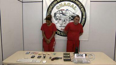 Polícia prende casal suspeito de roubo de carros em Belo Horizonte - O homem seria o chefe do tráfico de drogas em uma vila da região.