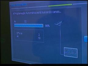 Vendas de televisores aumentam 40% com a proximidade da Copa do Mundo - Confira dicas de como sintonizar o canal digital da RBS TV no televisor.