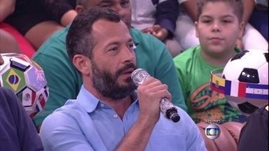 Manauara, Malvino Salvador exalta: 'Torci muito pela Itália' - Ator comenta desempenho da seleção