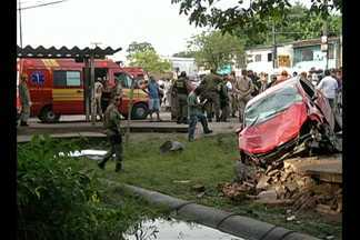 Completou um mês o acidente que matou quatro pessoas em parada de ônibus, em Belém - A motorista estava sob efeito de um medicamento que causa sonolência.
