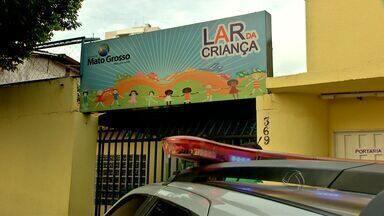 Adolescentes depredam Lar da Criança em Cuiabá - Adolescentes depredaram o Lar da Criança em Cuiabá.