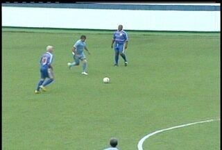Seleção Brasileira master faz partida beneficente em Macaé, RJ - Participou também o time Amigos de Macaé.