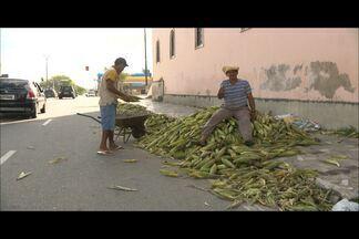 Paraibanos fazem a festa por causa da redução do preço do milho - Tradição é grande na mesa dos nordestinos. Saiba como está o preço da mão de milho, em Campina Grande.