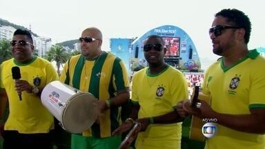 Grupo Clareou vai agitar o Fifa Fan Fest em Copacabana - Nesta segunda-feira (23), Brasil enfrenta Camarões em Brasília, às 17h. A festa em Copacabana vai ser animada pelo Grupo Clareou.