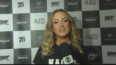 Claudia Leitte foi a principal atração do São João de Limoeiro - Público lotou a Avenida Severino Pinheiro, onde os shows acontecem.
