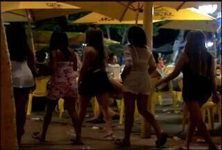 ONGs registram aumento da prostituição infantil em Fortaleza - Orla da capital é um dos pontos onde existe mais prostituição infantil.
