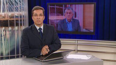 Secretário de Saúde do ES continua em hospital - Segundo a Secretaria de Saúde, ainda não há previsão de alta. No sábado (21), Tadeu Marino realizou um transplante de rim.