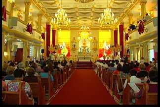 Igreja católica realiza solenidade do Sagrado Coração de Jesus - Celebração no Alto Tietê, no santuário de Mogi das Cruzes contou com uma presença especial.