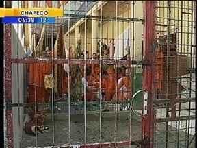 Presídio regional de Araranguá não pode mais receber presos devido à superlotação - Presídio regional de Araranguá não pode mais receber presos devido à superlotação
