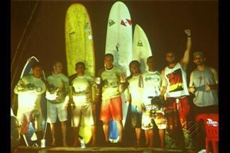 Lançado em Belém livro que conta a história do surf na pororoca - O livro relembra momentos marcantes do esporte que vem ganhando destaque mundial.