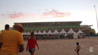 Copa em Cuiabá é destaque de site famoso no mundo inteiro - A Copa em Cuiabá foi destaque no site The New York Times.