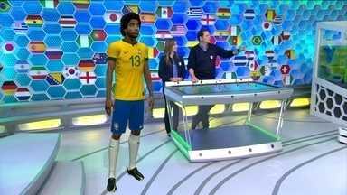 Cristiane Dias e Bob Faria comentam Seleção sem Neymar - Jornalistas trazem novidades direto da Central da Copa
