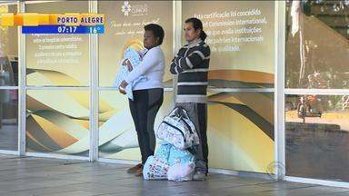 Maternidade do Hospital de Clínicas é fechada para obras - Apenas casos urgentes serão atendidos.