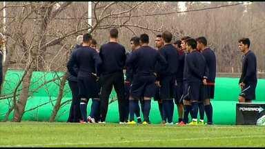 Atlético-MG faz o primeiro jogo pela decisão da Recopa, na Argentina - A equipe mineira fez um jogo treino e venceu.