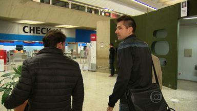 Após Copa do Mundo, goleiro Victor e atacante Jo voltam para o Atlético-MG - Jogadores vão para Buenos Aires para disputar a Recopa.
