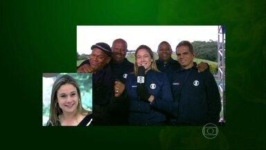 Mais Você mostra momentos da vida de Fernanda Gentil - Jornalista se diverte com clipe feito para ela