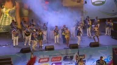 Neguinho da Beija-Flor transforma tristeza em samba em Fan Fest no AM - úblico de 12 mil pessoas viu Brasil perder para Holanda antes de show.Em parceria com Escola de Samba local, Neguinho foi a grande atração.