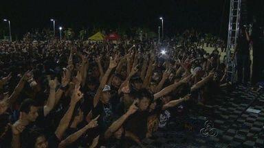 Dia Mundial do Rock é comemorado em Manaus - Bandas locais e atrações nacionais fizeram parte do evento realizado no Parque dos Bilhares, Zona Centro Sul.