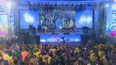 Milhares de pessoas passaram pelas 25 edições da Fifa Fan Fest no AM - Shows nacionais e locais animaram o publico que prestigiou o evento na Ponta Negra.