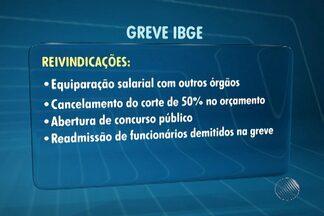 Greve dos funcionários do IBGE completa 51 dias - Paralisação é parcial, mas já prejudica a divulgação de pesquisas.