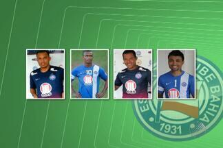Suspensões; julgamento; contratações; veja as novidades do Bahia na volta do Brasileiro - Ao todo, tricolor tem quatro novos reforços.