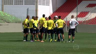 América volta a jogar pelo Campeonato Brasileiro da Série B - Time mineiro joga contra o Paraná no Estádio Independência.